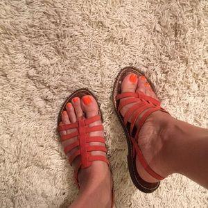 Sam Edelman leather sandals. Very comfortable. 8